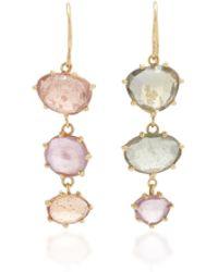 LFrank   Multi-colored Sapphire Earrings   Lyst