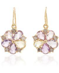 LFrank - The Flower Drop Earrings - Lyst