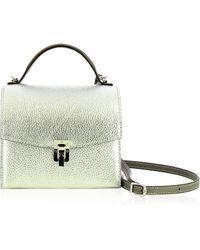 VBH   Georgia Leather Shoulder Bag   Lyst