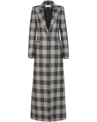 Marina Moscone - Long Wool Coat - Lyst