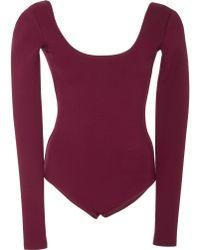 Gabriela Hearst - Ruth Knit Bodysuit - Lyst