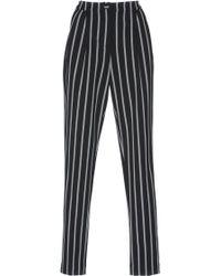 Rahul Mishra - Striped High Waist Trousers - Lyst
