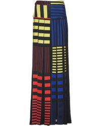 Rahul Mishra - Mondrian Inspired Paneled Skirt - Lyst