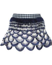 Rahul Mishra - Winter Marigold Mini Skirt - Lyst