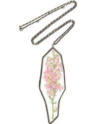 Rosie Assoulin - Pendant Flower Necklace - Lyst