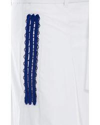 Genny - Colour Block Skirt - Lyst