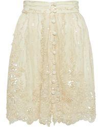 Ezgi Cinar - Cosmopolitan Lace Skirt - Lyst