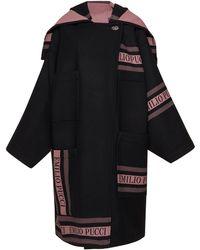 Emilio Pucci | Wool Hooded Coat | Lyst