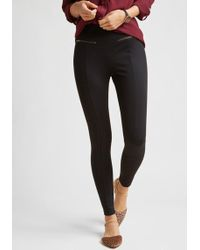 ModCloth - Ponte Leggings With Zippers - Lyst