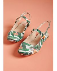 Banned - Midday March Slingback Flat - Lyst
