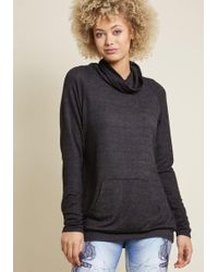 ModCloth - Take The Cozy Road Knit Tunic - Lyst