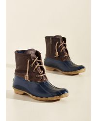 Sperry Top-Sider - Duck, Duck, Boot In Navy - Lyst