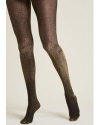 ModCloth   Gimme The Glitter Sparkly Tights   Lyst