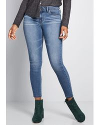 ModCloth - Where You Wander Skinny Jeans - Lyst