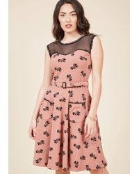 Effie's Heart - Blogging Molly A-line Dress In Bows - Lyst