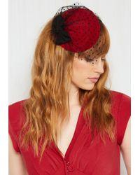 Jeanne Simmons Accessories - Sweetest Spread Fascinator In Crimson - Lyst
