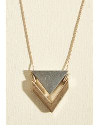 ModCloth | Two The Point Necklace | Lyst