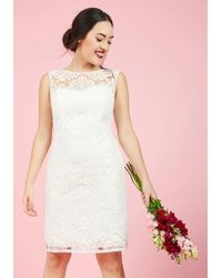 Jenny Yoo - Every Vow And Again Lace Dress In White - Lyst