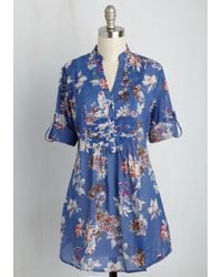 Magazine Clothing Co., Inc. - Back Road Ramble Top In Blue Meadow - Lyst