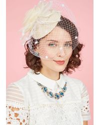 Cara - Wed The Time Is Right Fascinator - Lyst