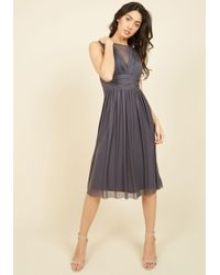 Marina - In The Name Of Lovely Midi Dress - Lyst