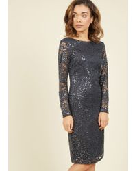 Marina - With Shine Regards Lace Dress - Lyst