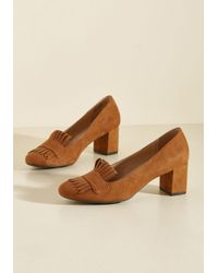 CL By Chinese Laundry - Action-minded Professor Block Heel In Cognac - Lyst