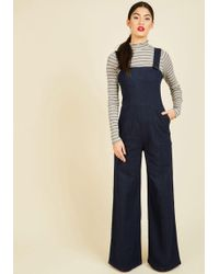 Collectif Clothing - I've Got Your Throwback Overalls - Lyst