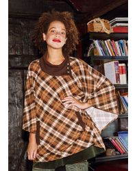 East Concept Fashion Ltd - Sweet As Cider Plaid Sweater In Spice - Lyst