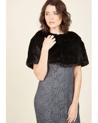 Collectif Clothing - Posh Proclamation Cape - Lyst