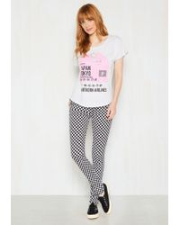 Tripp Nyc - I'll Take The Checker, Please Jeans - Lyst