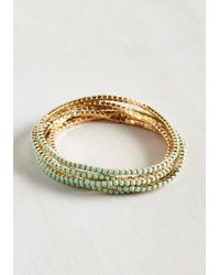 Ana Accessories Inc - Start With A Bangle Bracelet Set - Lyst