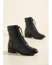 N.y.l.a. - Flaunt Your Footwork Boot In Black - Lyst