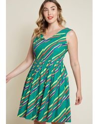 Emily and Fin - Vintage-inspired Vim Cotton Dress - Lyst