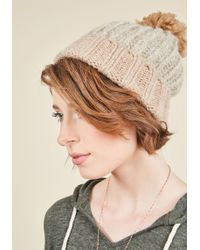Ana Accessories Inc | Sled It Be Hat In Taupe | Lyst