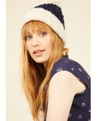 Ana Accessories Inc | Sled It Be Hat In Navy | Lyst