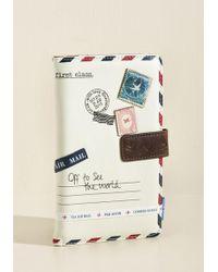 Disaster Designs - Seine Me A Postcard Travel Wallet - Lyst