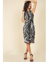 Marina - Marked With Sparkle Sheath Dress - Lyst
