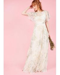 Jenny Yoo - Afloat On Flawlessness Maxi Dress In Ivory - Lyst