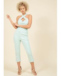 Collectif - Sassy Spectacle Jumpsuit - Lyst