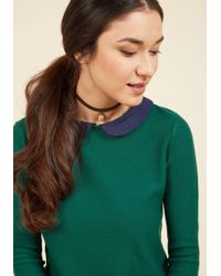 Beijo Brasil - It's All Fawn And Games Choker - Lyst