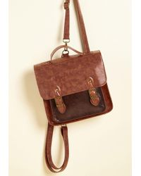 ModCloth - Have A Pack-up Plan Convertible Bag - Lyst