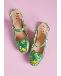 Banned - Your Just Deserts Slingback Flat - Lyst