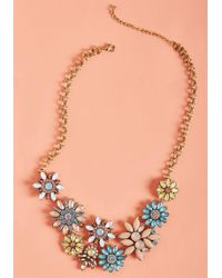ModCloth - Built-in Brilliance Statement Necklace - Lyst