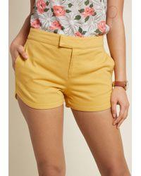 ModCloth - Positively Polished Shorts - Lyst