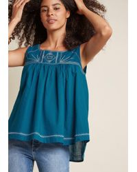 Mata Traders - Breezy Brilliance Cotton Tank Top - Lyst