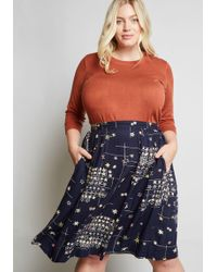 Emily and Fin - Chipper Me This A-line Skirt - Lyst
