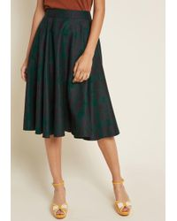 Collectif - X Mc Ever Lovely Intellect Midi Skirt - Lyst