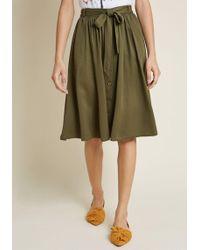 ModCloth - Dreamer And Doer A-line Skirt - Lyst