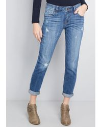 ModCloth - Casual Meets Comfortable Cuffed Jeans - Lyst